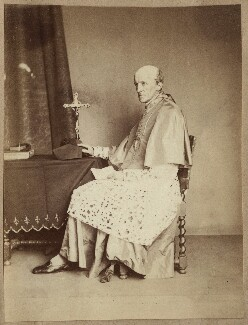 Henry Edward Manning, by Unknown photographer - NPG Ax21901