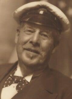 Sir Thomas Johnstone Lipton, 1st Bt, by Howard Coster - NPG Ax2311