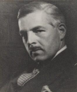 Major Van de Heuvel, by Howard Coster - NPG Ax2343