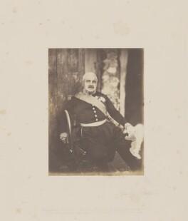 Aimable Jean Jacques Pélissier, 1st duc de Malakoff, by Roger Fenton - NPG Ax24902