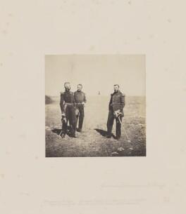 General Labousiniere; General Beuret, by Roger Fenton - NPG Ax24915