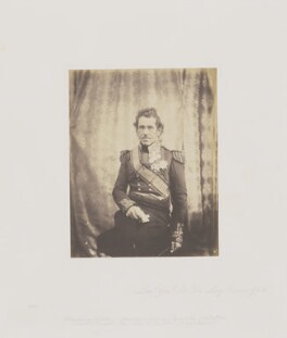 Sir George de Lacy Evans, by Roger Fenton - NPG Ax24919