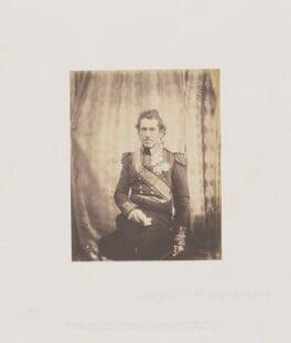 Sir George de Lacy Evans, by Roger Fenton, 1855 - NPG Ax24919 - © National Portrait Gallery, London