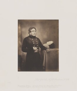 Sir Henry John William Bentinck, by Roger Fenton - NPG Ax24927