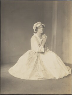 Sylvia Nelis as Polly Peachum in 'The Beggar's Opera', by Howard Instead - NPG Ax24977