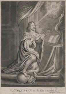 King Charles I, sold by John Smith - NPG D9491