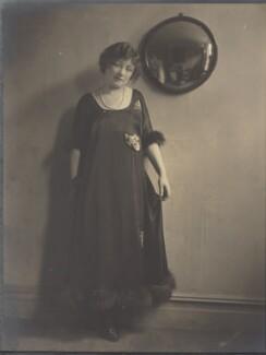 Hilda Trevelyan (Hilda Marie Antoinette Anna Tucker), by Howard Instead - NPG Ax24990