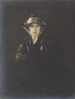 Haidée Wright, by Howard Instead - NPG Ax24991