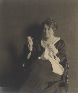 Mary Herbert, Baroness von Hügel, by Howard Instead - NPG Ax25010