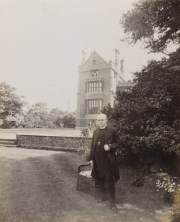 Randall Thomas Davidson, Baron Davidson of Lambeth, by Frederic G. Hodsoll, early 1900s - NPG Ax25153 - © National Portrait Gallery, London