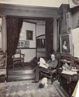Sir Arthur Stockdale Cope, by Frederic G. Hodsoll, 1903 - NPG Ax25160 - © National Portrait Gallery, London