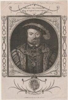 King Henry VIII, by John Goldar - NPG D9465