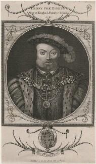 King Henry VIII, by John Goldar - NPG D9466