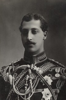 Prince Albert Victor, Duke of Clarence and Avondale, by Lafayette - NPG Ax26421