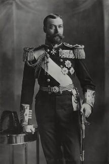 King George V, by Lafayette - NPG Ax26431