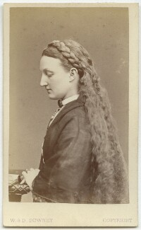 Kate Josephine Bateman, by W. & D. Downey - NPG Ax27478
