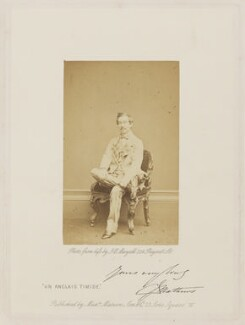 Charles James Mathews in 'Un Anglais Timide', otherwise 'Cool as a Cucumber', by John Jabez Edwin Mayall - NPG Ax27678