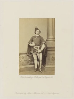 Theodore Wachtel as Manrico in 'Il Trovatore', by John Jabez Edwin Mayall - NPG Ax27680