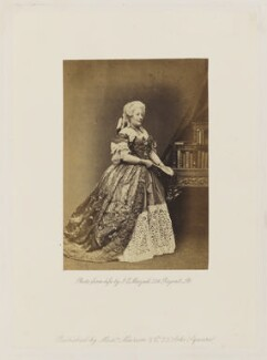 Fanny Stirling as Mrs Candour in 'The School for Scandal', by John Jabez Edwin Mayall - NPG Ax27681
