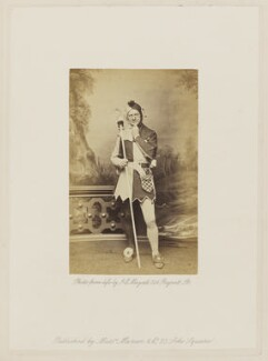 Henry Compton (Charles Mackenzie) as Touchstone in 'As You Like It', by John Jabez Edwin Mayall - NPG Ax27682