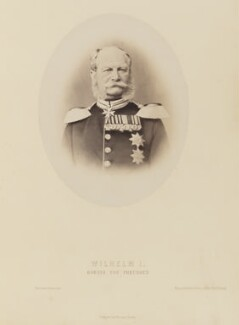 Wilhelm I, Emperor of Germany and King of Prussia, by Unknown photographer - NPG Ax27691