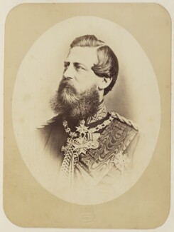 Frederick III, Emperor of Germany, by Unknown photographer - NPG Ax27695