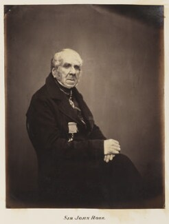 Sir John Ross, by Unknown photographer - NPG Ax27704