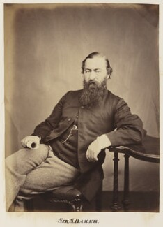 Sir Samuel White Baker, by Unknown photographer - NPG Ax27706