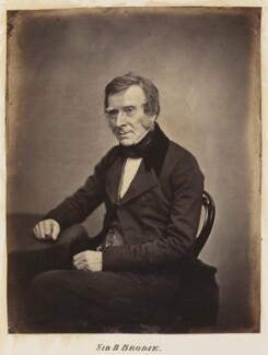Sir Benjamin Collins Brodie, 1st Bt, by Unknown photographer - NPG Ax27709