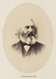 Henry Wadsworth Longfellow, by Unknown photographer - NPG Ax27711