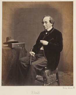 Benjamin Disraeli, Earl of Beaconsfield, by W. & D. Downey - NPG Ax27712