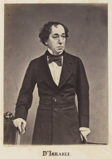 Benjamin Disraeli, Earl of Beaconsfield, by Unknown photographer - NPG Ax27713