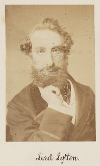 Edward Robert Bulwer-Lytton, 1st Earl of Lytton, by Unknown photographer - NPG Ax27716