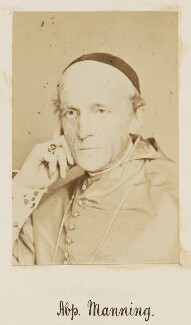 Henry Edward Manning, by Unknown photographer - NPG Ax27722