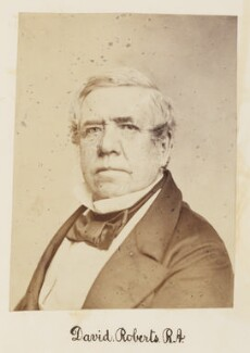 David Roberts, by Unknown photographer - NPG Ax27723