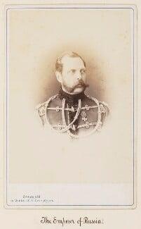 Alexander III, Emperor of Russia, by Sergey Lvovich Levitsky, 1860s - NPG Ax27725 - © National Portrait Gallery, London