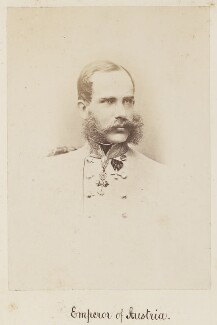 Francis Joseph I, Emperor of Austria, by Unknown photographer - NPG Ax27727