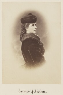 Elisabeth, Empress of Austria, by Unknown photographer - NPG Ax27728
