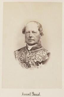 Friedrich Ferdinand, Count von Beust, by Unknown photographer - NPG Ax27729
