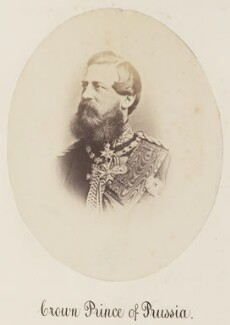 Frederick III, Emperor of Germany, by Unknown photographer - NPG Ax27731