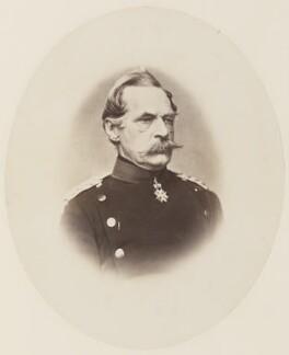 Albrecht Theodore Emil, Count Von Roon, by Unknown photographer - NPG Ax27740