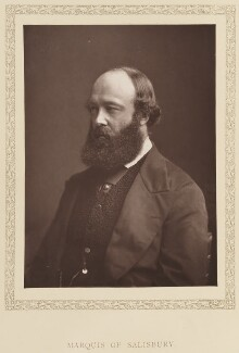 Robert Gascoyne-Cecil, 3rd Marquess of Salisbury, by London Stereoscopic & Photographic Company - NPG Ax27780