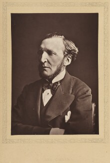 Hugh McCalmont Cairns, 1st Earl Cairns, by London Stereoscopic & Photographic Company - NPG Ax27785