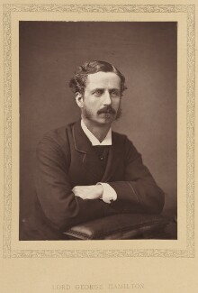 Lord George Francis Hamilton, by Unknown photographer - NPG Ax27787
