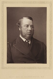 George Sclater-Booth, 1st Baron Basing, by London Stereoscopic & Photographic Company - NPG Ax27789