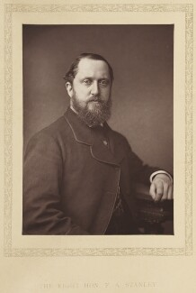 Frederick Arthur Stanley, 16th Earl of Derby, by London Stereoscopic & Photographic Company - NPG Ax27791