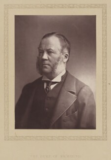 Charles Henry Gordon-Lennox, 6th Duke of Richmond, 6th Duke of Lennox and 1st Duke of Gordon, by London Stereoscopic & Photographic Company, published 1881 - NPG Ax27792 - © National Portrait Gallery, London