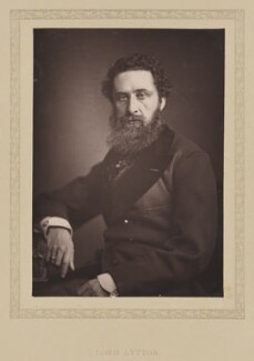 Edward Robert Bulwer-Lytton, 1st Earl of Lytton, by London Stereoscopic & Photographic Company, published 1881 - NPG Ax27795 - © National Portrait Gallery, London