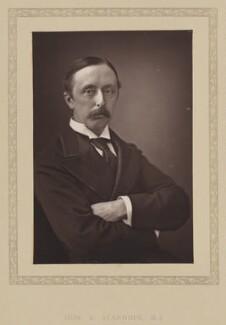 Hon. Edward Stanhope, by London Stereoscopic & Photographic Company - NPG Ax27798