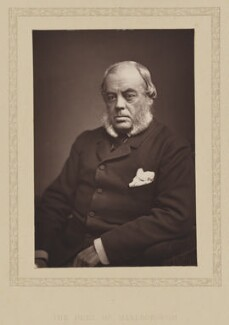 John Winston Spencer Churchill, 7th Duke of Marlborough, by London Stereoscopic & Photographic Company, published 1881 - NPG Ax27801 - © National Portrait Gallery, London